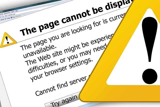 404-es hiba email riasztás beállítása